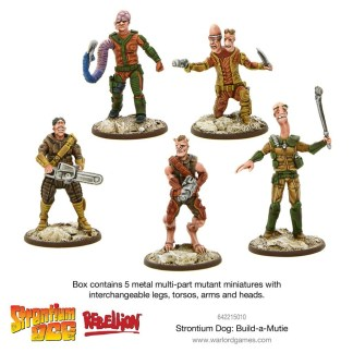 Warlord Strontium Dog 642215010 Build-a-Mutie