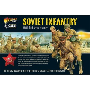 Warlord 402014003 Bolt Action Soviet Infantry
