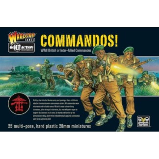 Warlord 40201107 Bolt action British Commandos