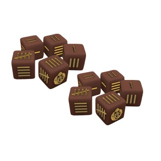 Warlord 773411001 Blood Red Skies British Dice