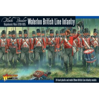 Warlord WGN-BR-12 Black Powder Waterloo British Line Infantry