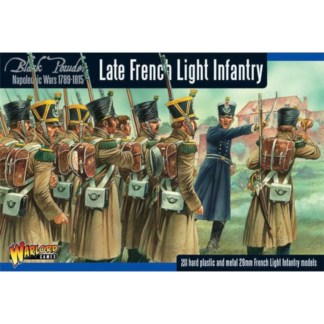 Warlord 302012001 Black Powder Late French Light Infantry