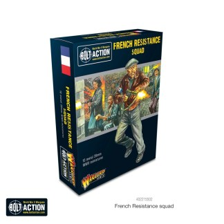Warlord 402215502 Bolt Action French Resistance Squad
