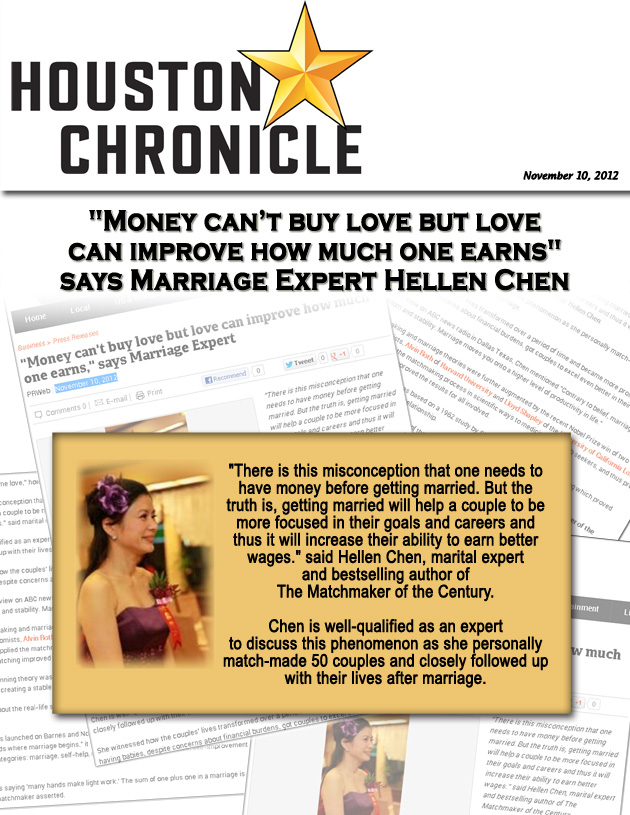 Hellen Chen Featured in Houston Chronicle