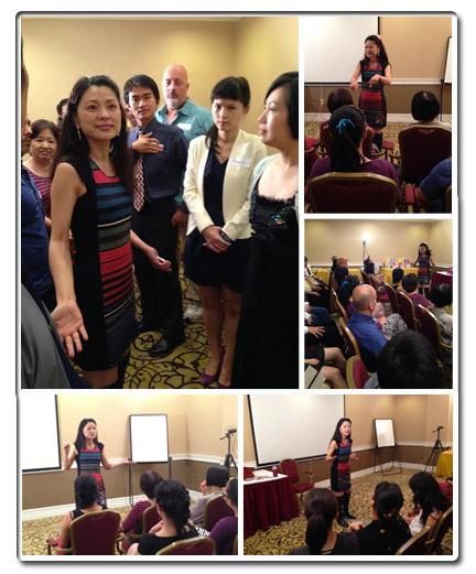 Hellen Chen's Love Seminar Sept 6