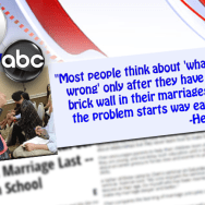 Marriage Expert Says Most People Missed the Vital Lessons to Make A Marriage Last — From High School