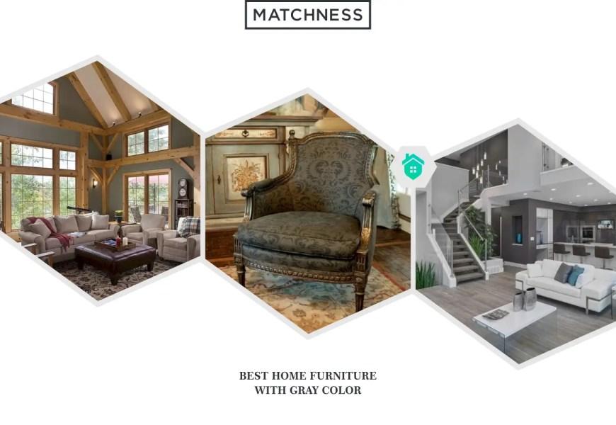 13. furniture gray color