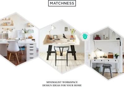 17. minimalist workspace design