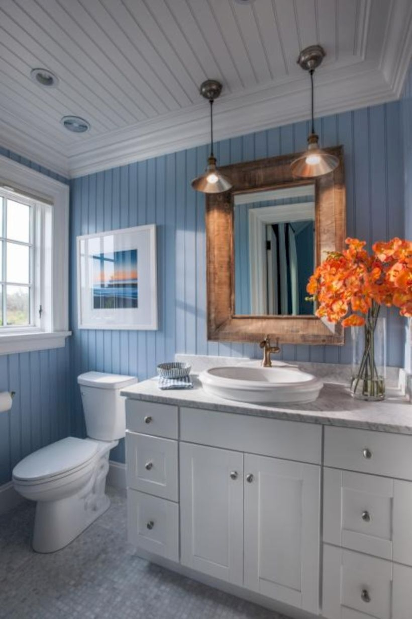Amazing coastal retreat bathroom inspiration 14