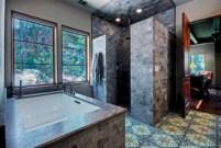 Amazing doorless shower design ideas 14
