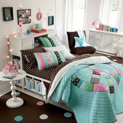 Amazing ikea teenage girl bedroom ideas 01