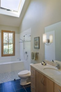 Bathtub and shower tile ideas to beautify your bathroom 03