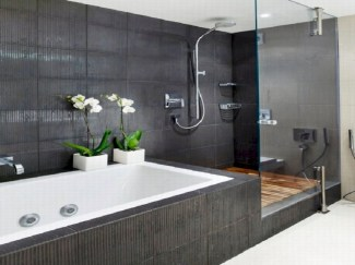 Bathtub and shower tile ideas to beautify your bathroom 29