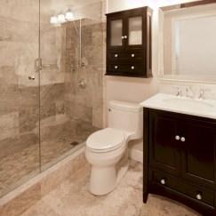 Beautiful bathroom frameless shower glass enclosure 09