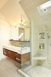 Beautiful bathroom frameless shower glass enclosure 14