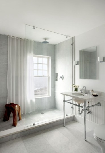 Beautiful bathroom frameless shower glass enclosure 20