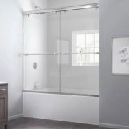 Beautiful bathroom frameless shower glass enclosure 32