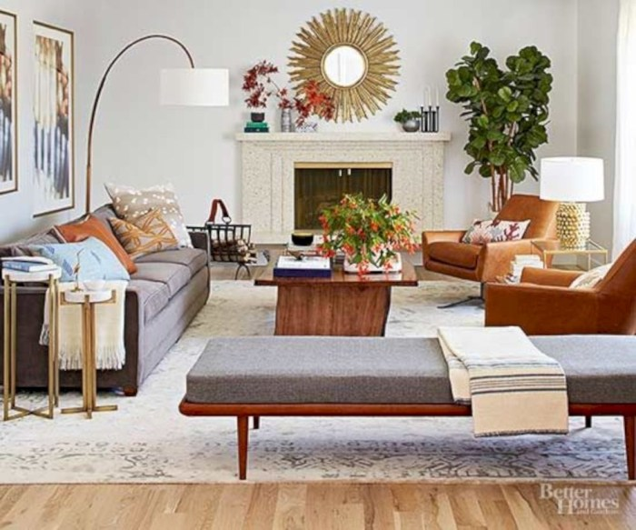 Beautiful living room design ideas with mirror 09