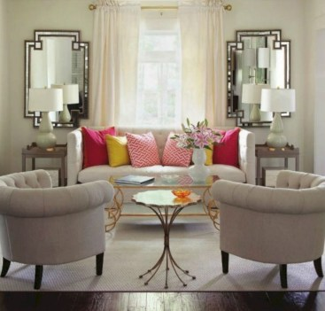 Beautiful living room design ideas with mirror 18
