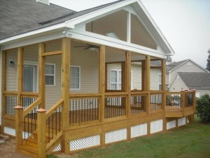 Beautiful porch ideas that will add value your home 06