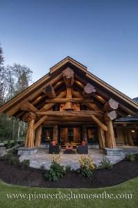 Beautiul log homes ideas to inspire you 03