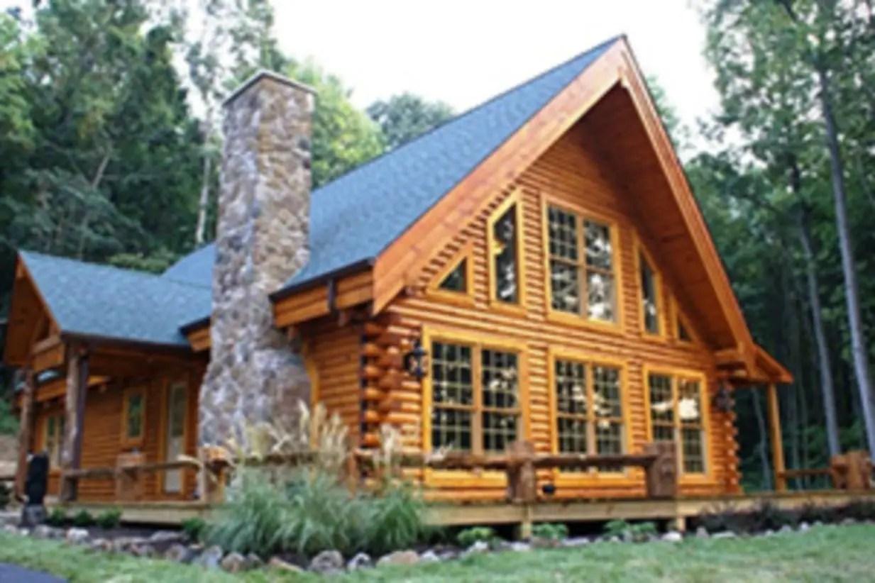 Beautiul log homes ideas to inspire you 04