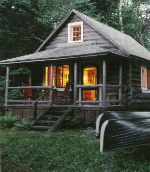 Beautiul log homes ideas to inspire you 12