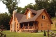 Beautiul log homes ideas to inspire you 13