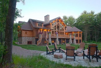 Beautiul log homes ideas to inspire you 14