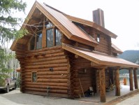 Beautiul log homes ideas to inspire you 19