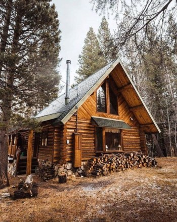 Beautiul log homes ideas to inspire you 25