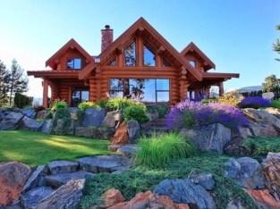 Beautiul log homes ideas to inspire you 26