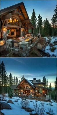 Beautiul log homes ideas to inspire you 31