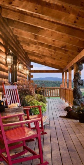 Beautiul log homes ideas to inspire you 32
