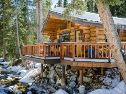 Beautiul log homes ideas to inspire you 43