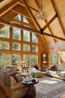 Beautiul log homes ideas to inspire you 45