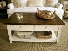 Best chunky farmhouse coffee table 03