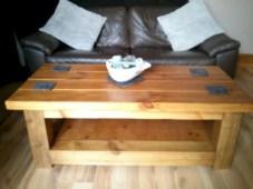 Best chunky farmhouse coffee table 12