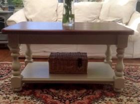 Best chunky farmhouse coffee table 16