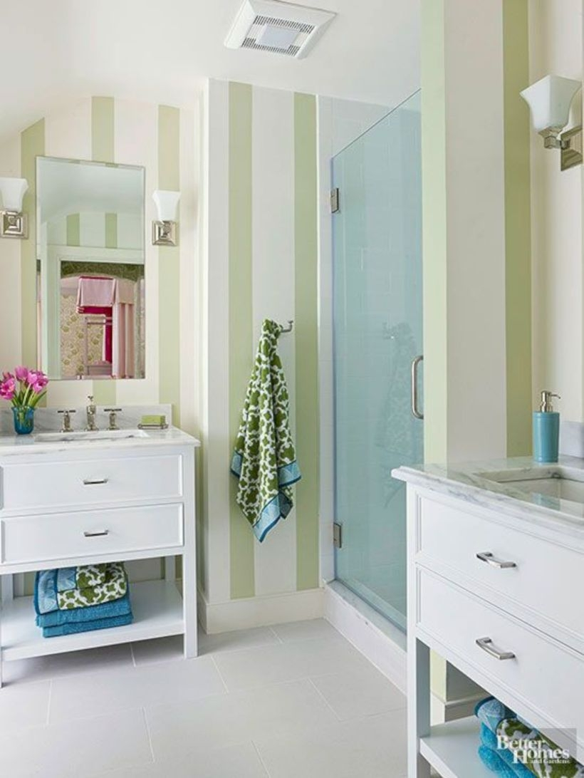 Best classic glass block shower layout 09