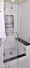 Best classic glass block shower layout 16