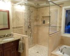 Best classic glass block shower layout 23