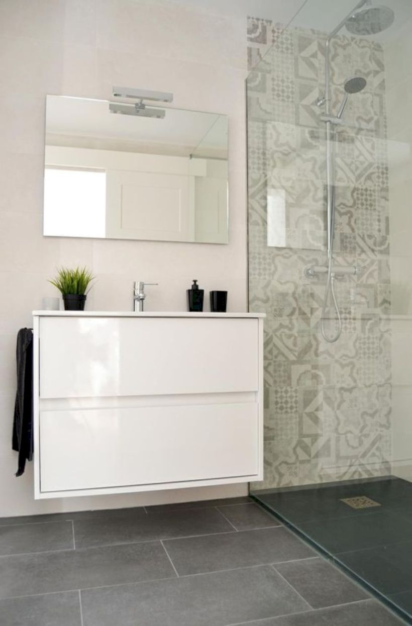 Best classic glass block shower layout 30