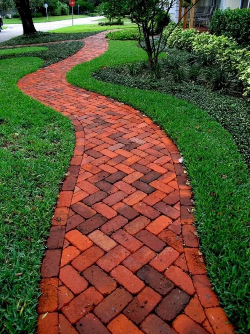 Best garden walkway to envy your visitor 21