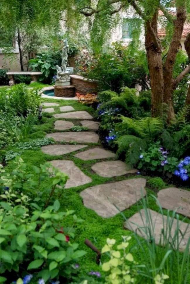 Best garden walkway to envy your visitor 40