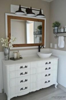 Best modern vintage bathroom reveal 05