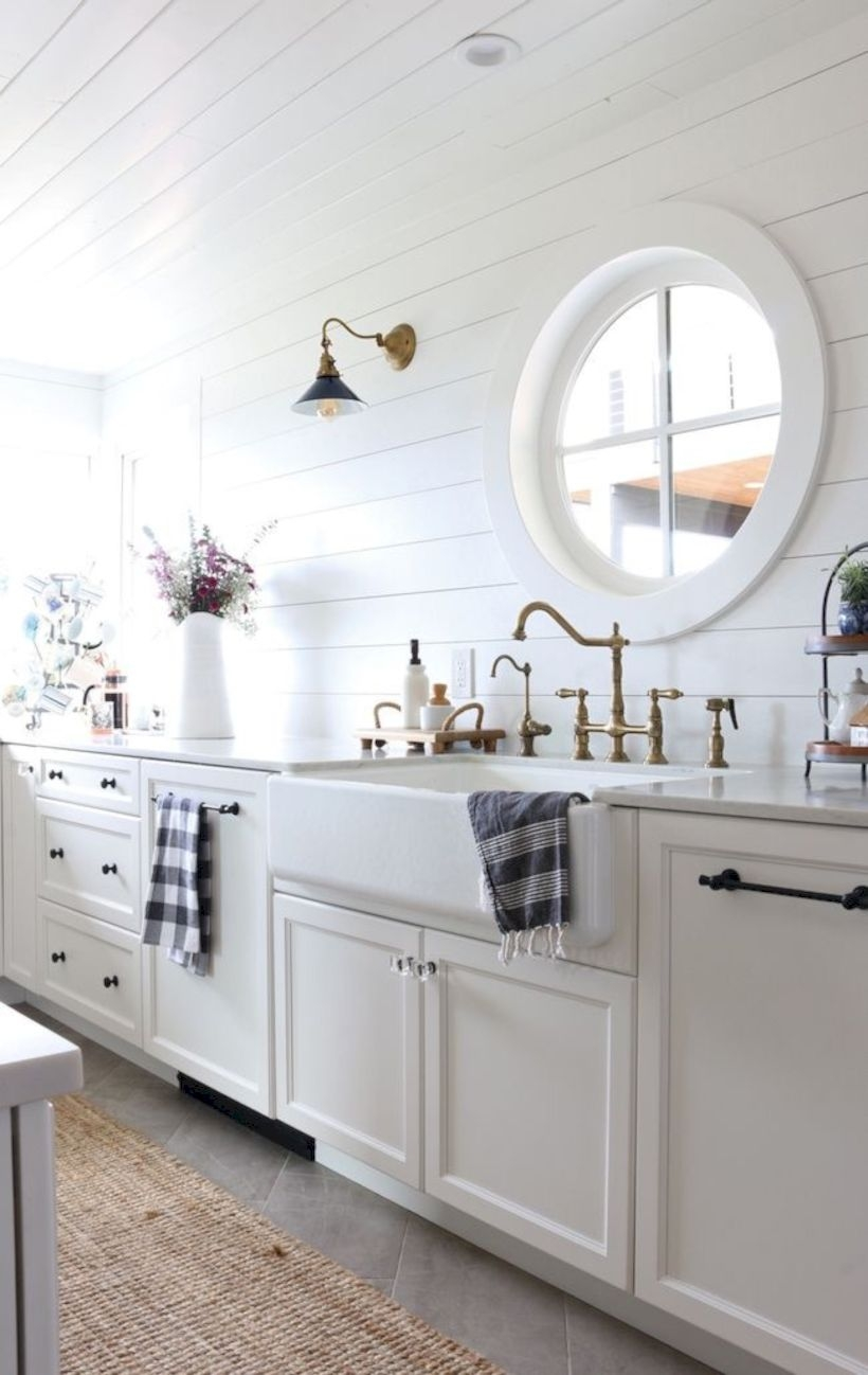 Best modern vintage bathroom reveal 06