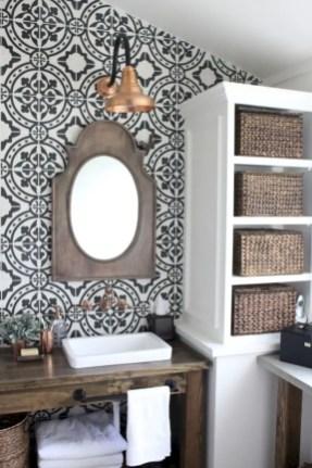 Best modern vintage bathroom reveal 07