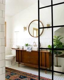 Best modern vintage bathroom reveal 29