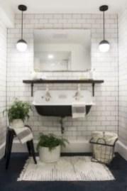 Best modern vintage bathroom reveal 31